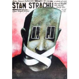 Angstzustand Janusz Kijowski Andrzej Pągowski Polnische Filmplakate