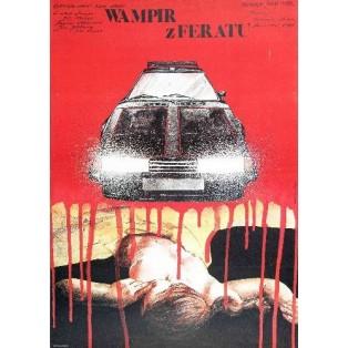 Autovampir Juraj Herz Andrzej Pągowski Polnische Filmplakate
