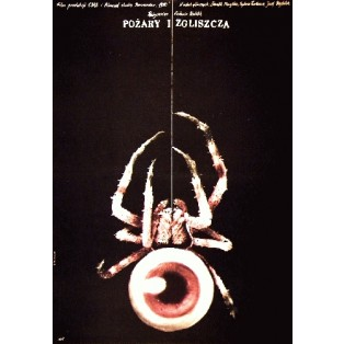 Feuer und Asche Antonin Kachlik Andrzej Pągowski Polnische Filmplakate