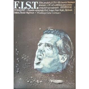F.I.S.T. - Ein Mann geht seinen Weg Norman Jewison Marek Płoza-Doliński Polnische Filmplakate