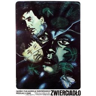 Spiegel Andrei Tarkovsky Marek Płoza-Doliński Polnische Filmplakate