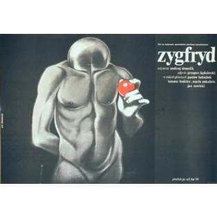 Siegfried Andrzej Domalik Krzysztof Bednarski Polnische Filmplakate