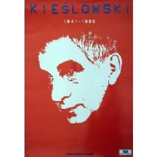Krzysztof Kieślowski Rot Jan Bokiewicz Polnische Filmplakate