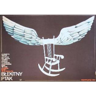 Blaue Vogel George Cukor Anna Mikke Polnische Filmplakate