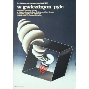 Im Staub der Sterne Gottfried Kolditz Anna Mikke Polnische Filmplakate