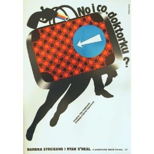 Is' was, Doc? Peter Bogdanovich Elżbieta Procka Polnische Filmplakate