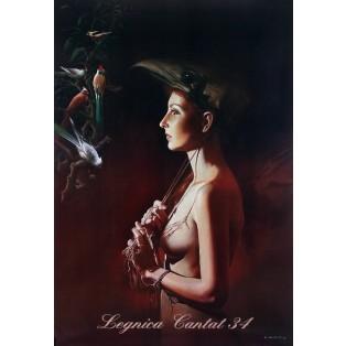 Legnica Cantat 34 Wojciech Siudmak Polnische Opernplakate