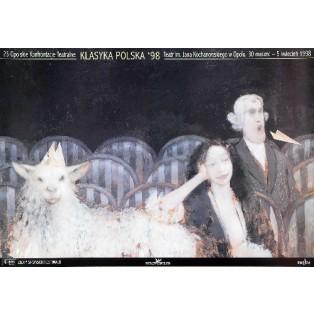 Theaterkonfrontationen Opole - 23. Andrzej Sznejweis Polnische Theaterplakate