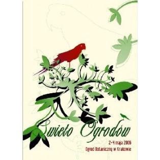 Gartenfest Elżbieta Wojciechowska Polnische Plakate