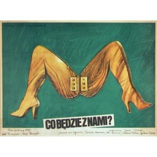 Wie wär's mit uns beiden? Krzysztof Bednarski Polnische Filmplakate