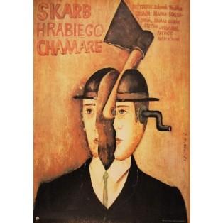 Schatz des Grafen Chamare Zdenek Troska Jaime Carlos Nieto Polnische Filmplakate