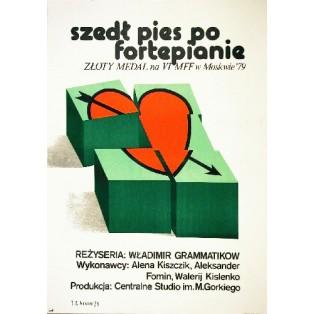Reise nach Varna Vladimir Grammatikov Jaime Carlos Nieto Polnische Filmplakate