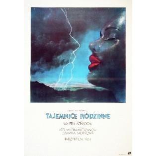 Familiengeheimnisse Valeri Akhadov Janusz Obłucki Polnische Filmplakate