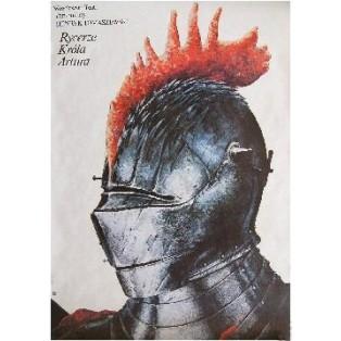 Ritter von Koenig Artus Jan Jaromir Aleksiun Polnische Theaterplakate
