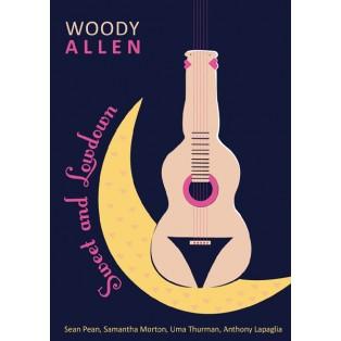 Sweet and lowdown Woody Allen Elżbieta Wojciechowska Polnische Filmplakate