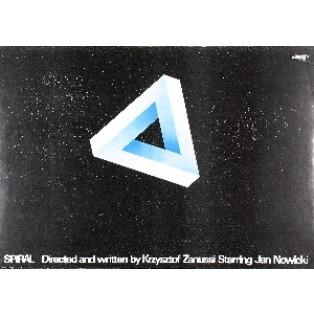 Spirale Krzysztof Zanussi Marek Freudenreich Polnische Filmplakate