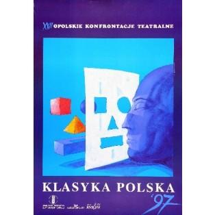Theaterkonfrontationen Opole - 22 Bolesław Polnar Polnische Theaterplakate