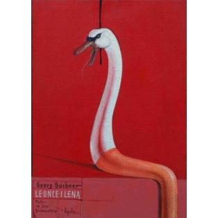 Leonce und Lena Bolesław Polnar Polnische Theaterplakate