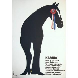 Karino Elżbieta Procka Polnische Filmplakate