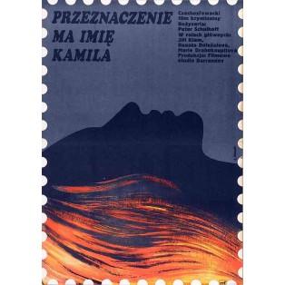 Schicksal heißt Kamila Elżbieta Procka Polnische Filmplakate
