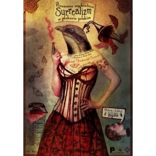 Bewegte Phantasie Surrealismus in der polnischen Plakat Kaja Renkas Polnische Ausstellungsplakate