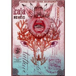 Plakate, Hoaxes in Dworek Białoprądnicki Kaja Renkas Polnische Ausstellungsplakate