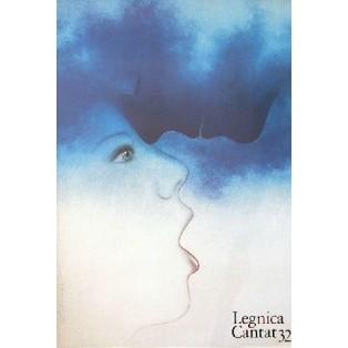 Legnica Cantat 32 Wiesław Rosocha Polnische Musikplakate
