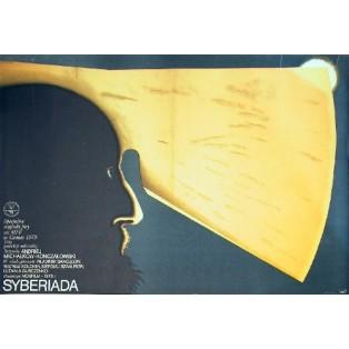Sibiriada Andrey Konchalovskiy Wiesław Rosocha Polnische Filmplakate
