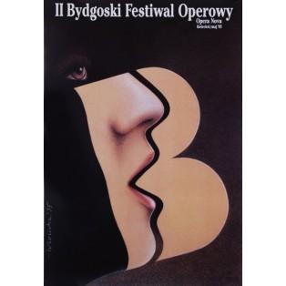 Opernfestival in Bydgoszcz, 2. Wiesław Rosocha Polnische Opernplakate