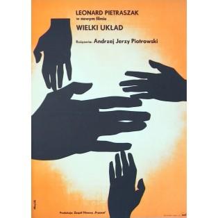 Wielki układ Tomasz Rumiński Polnische Filmplakate