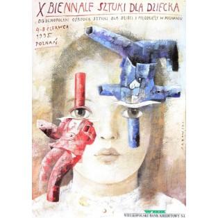 Biennale der Kunst f Wiktor Sadowski Polnische Ausstellungsplakate