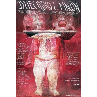 Das Wunder von Macon Peter Greenaway Wiktor Sadowski Polnische Filmplakate