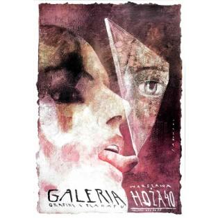 Grafik- und Plakatgalerie Ho?a 40 Wiktor Sadowski Polnische Plakate
