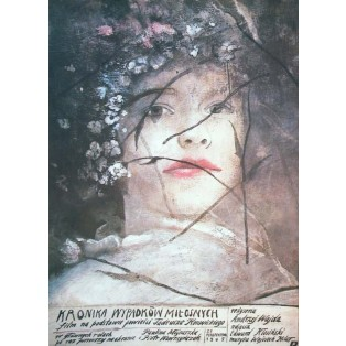 Chronik einiger Liebesunf Wiktor Sadowski Polnische Filmplakate