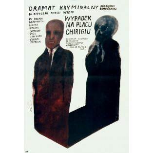 Zeuge f Wiktor Sadowski Polnische Filmplakate