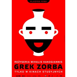 Alexis Sorbas Mihalis Kakogiannis Joanna Górska Jerzy Skakun Polnische Filmplakate
