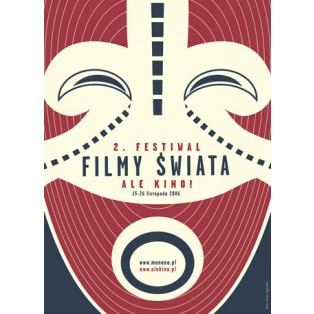 Ale Kino! Filmfestival Weltkino - 2. Joanna Górska Jerzy Skakun Polnische Filmplakate