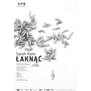 Gier Sarah Kane Joanna Górska Jerzy Skakun Polnische Theaterplakate