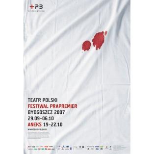 Festival der Erstaufführungen Joanna Górska Jerzy Skakun Polnische Plakate