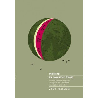 Weltkino im polnischen Plakat Joanna Górska Jerzy Skakun Polnische Ausstellungsplakate
