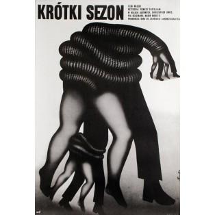 Brief Season Romuald Socha Polnische Filmplakate