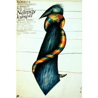Buddy Buddy Romuald Socha Polnische Filmplakate