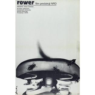 Fahrrad Romuald Socha Polnische Filmplakate