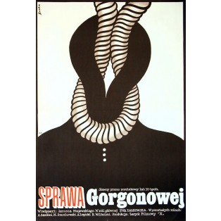 Fall Gorgonowa Romuald Socha Polnische Filmplakate
