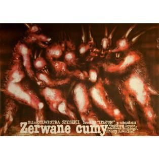 Broken lashing straps Romuald Socha Polnische Filmplakate