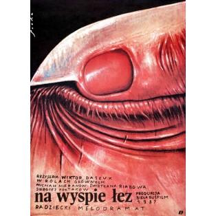 Auf der Insel der Tränen Romuald Socha Polnische Filmplakate