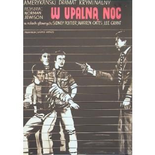 In der Hitze der Nacht Norman Jewison Marian Stachurski Polnische Filmplakate