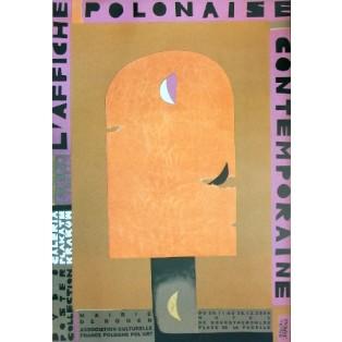 L affiche Polonaise, Hotel de Bourgtheroulde Monika Starowicz Polnische Ausstellungsplakate