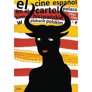 Spanisches Kino Monika Starowicz Polnische Ausstellungsplakate
