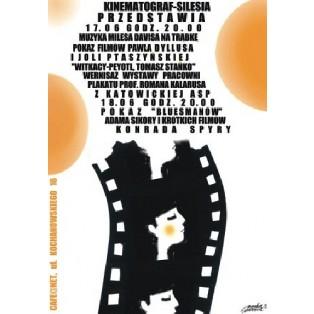 Kinematograf - Silesia Monika Starowicz Polnische Ausstellungsplakate